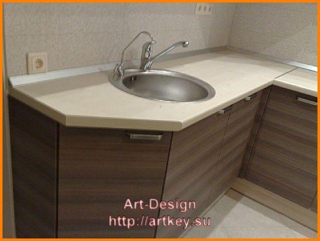 современный стиль кухонной мебели